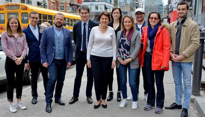 Montréal, l'étape québécoise indispensable des dirigeants des Républicains de Laurent Wauquiez