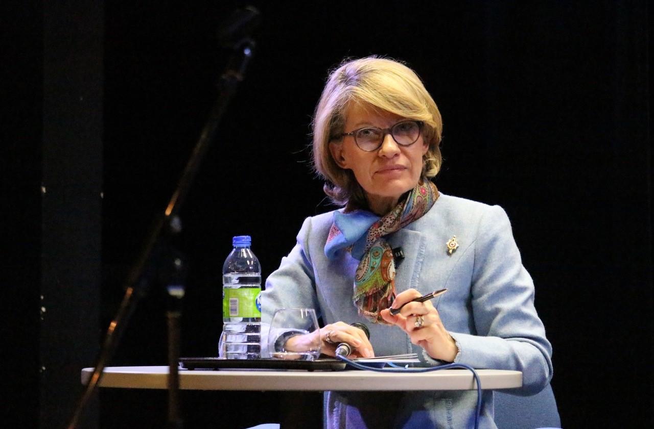 La députée en mission, Anne Genetet, à l'écoute des Français de Montréal