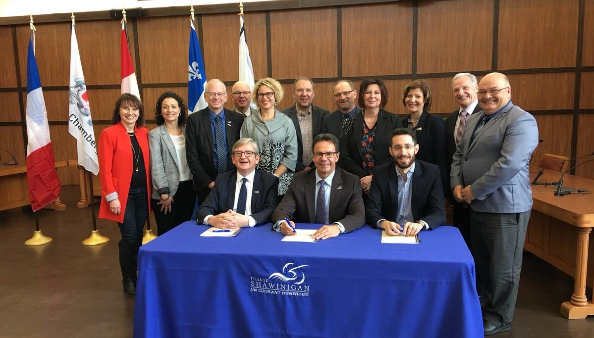 Coopération numérique: quand la cité des ducs de Savoie rencontre la cité de l'énergie du Québec