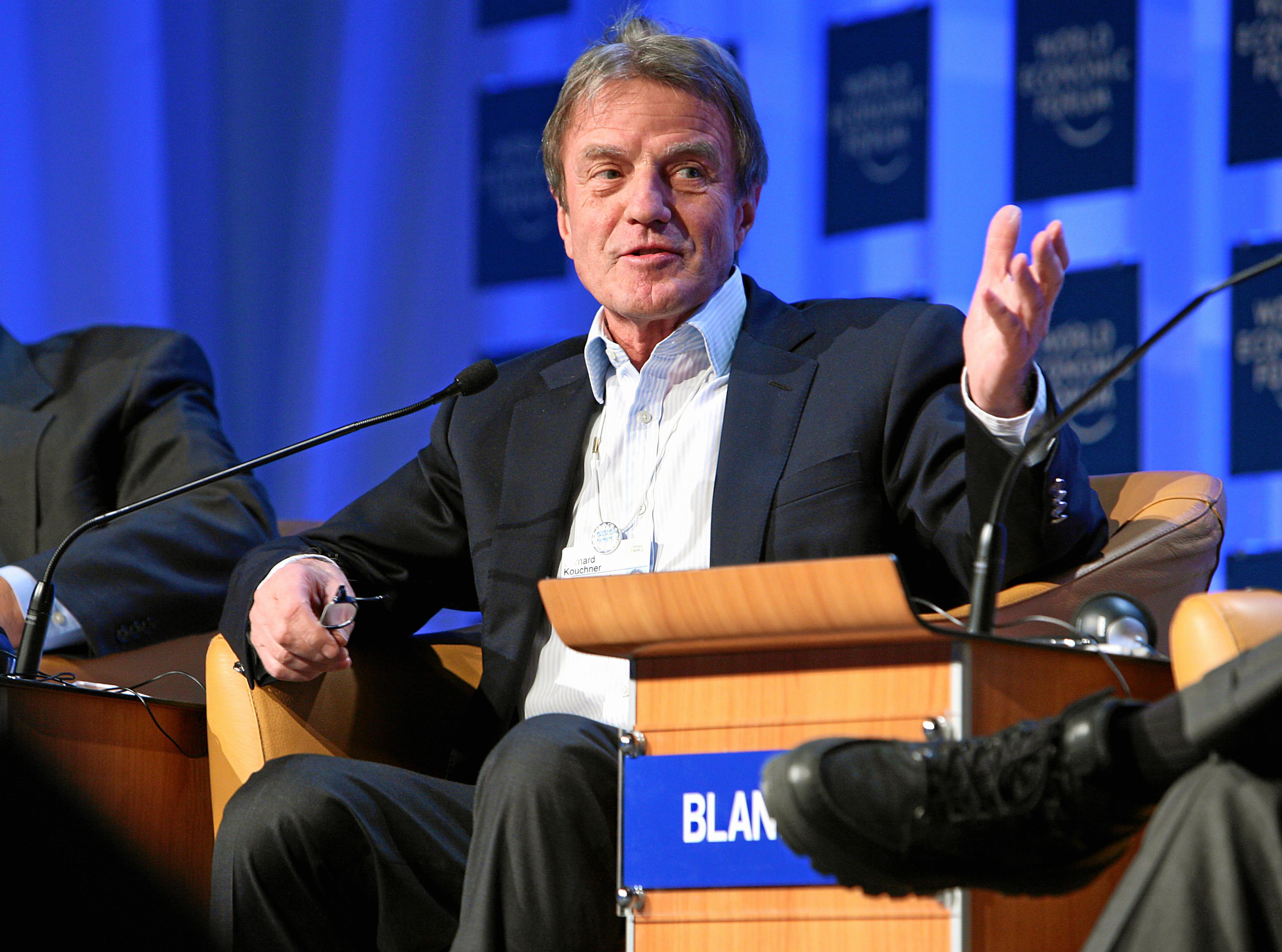 Bernard Kouchner à Ottawa