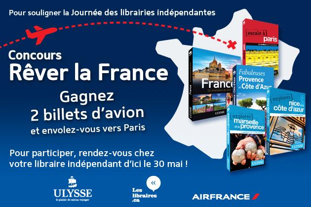 Jeu-Concours: Ulysse vous emmène à Paris avec Air France