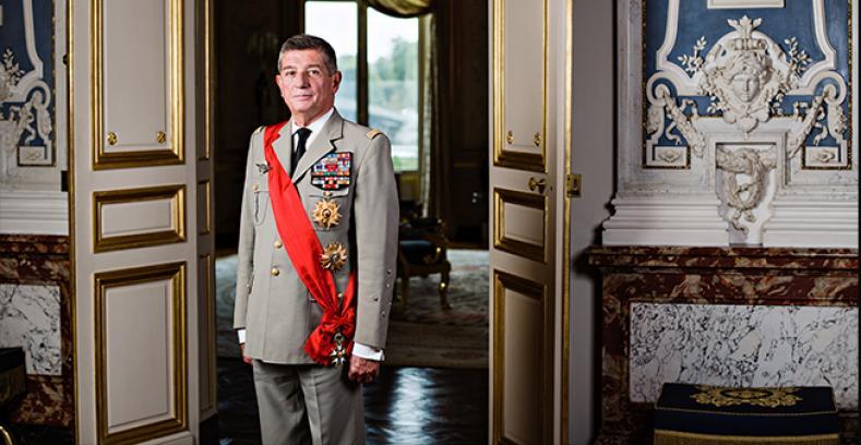 Le Général d'armée français Benoît Puga en visite au Canada