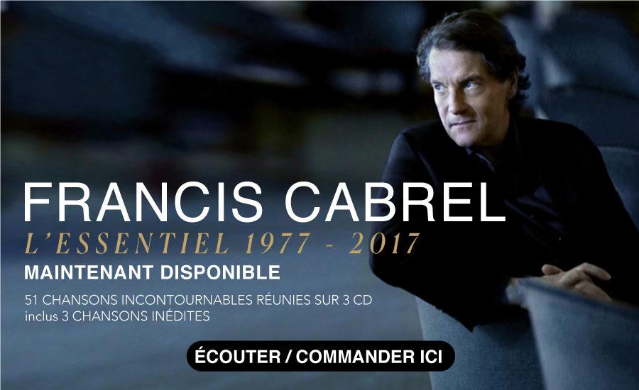 Francis Cabrel au Québec en 2019 ?