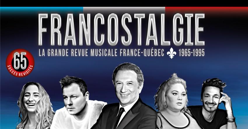 Michel Drucker embarque avec Francostalgie, au Québec cet automne