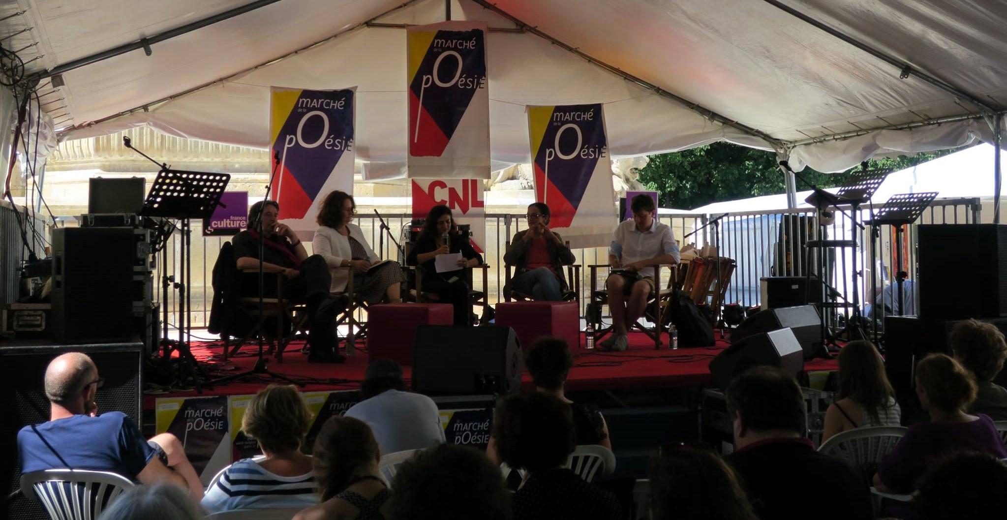 Le Québec, à l'honneur du 36e marché de la poésie de Paris
