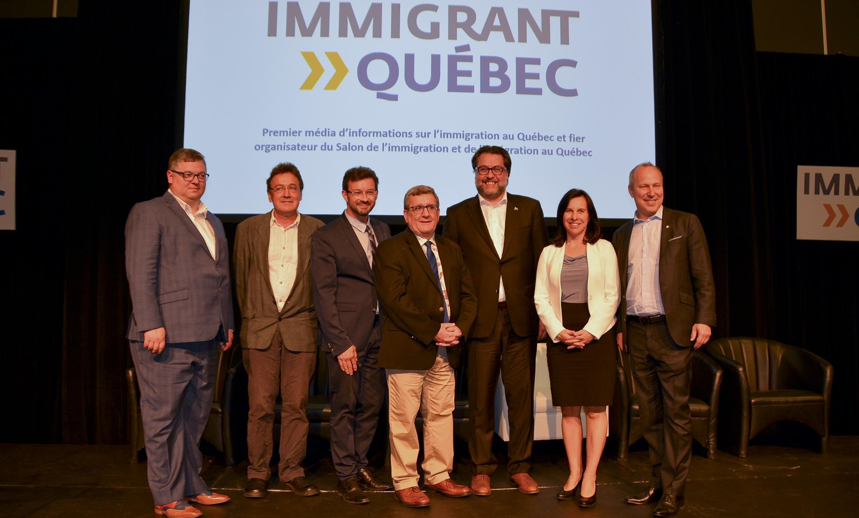 Un record de fréquentation pour le 7ème Salon de l'immigration de Montréal