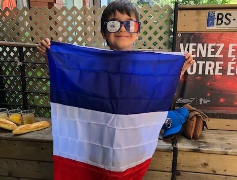 France-Argentine à l'Union Française de Montréal, en famille!