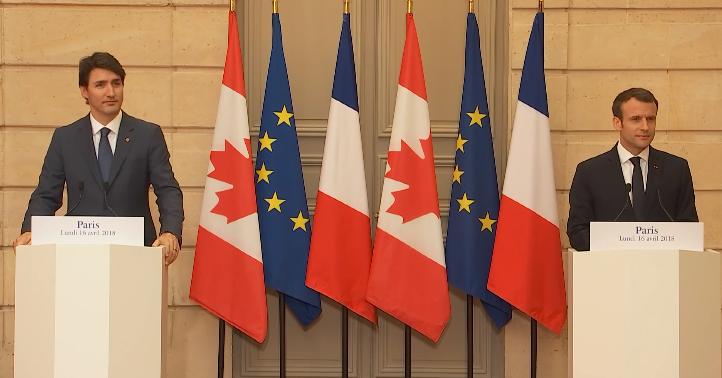 L'amitié franco-canadienne mise de l'avant lors du G7 à La Malbaie