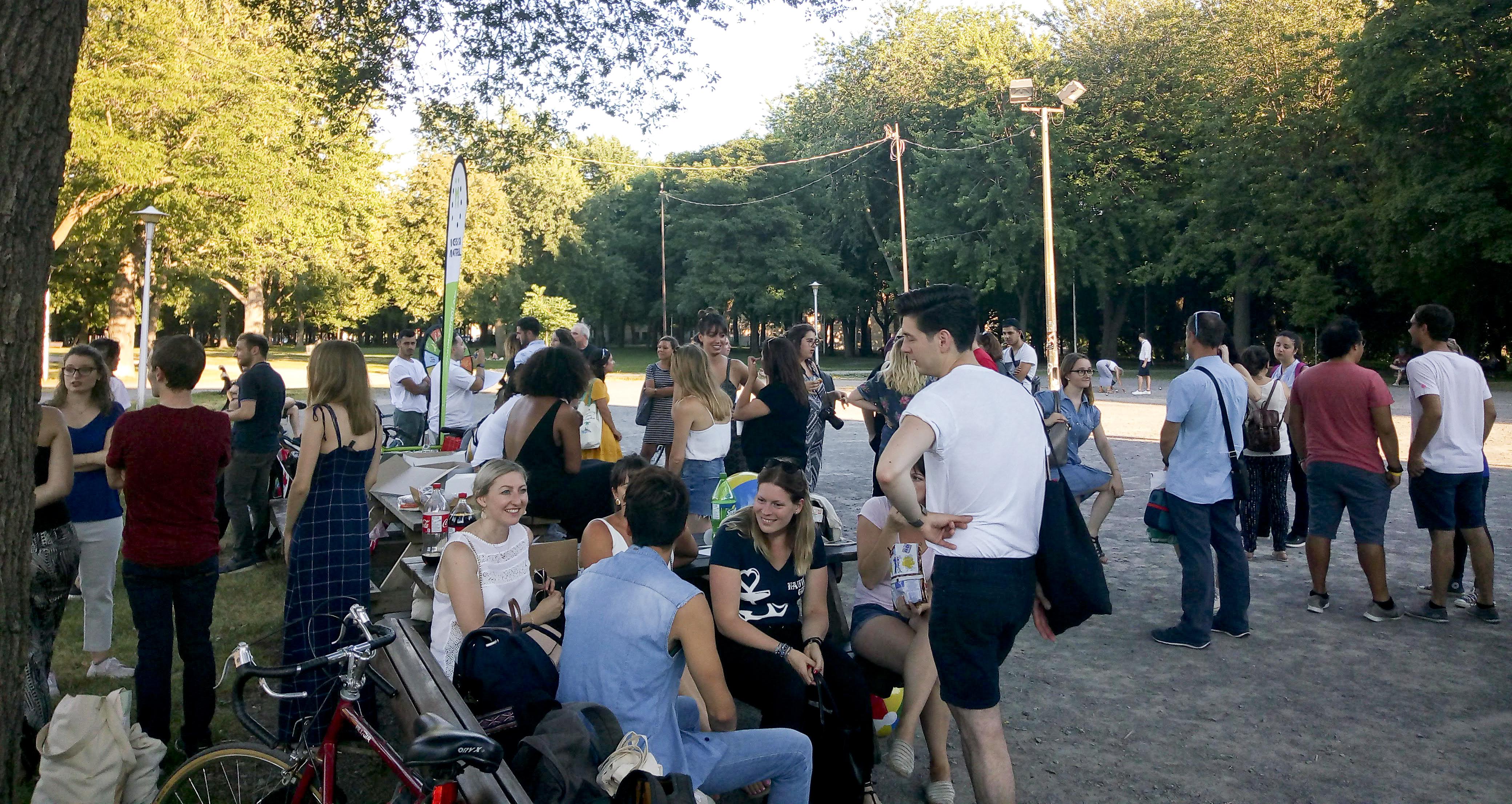 Meetup de deux blogueuses françaises au Parc Lafontaine