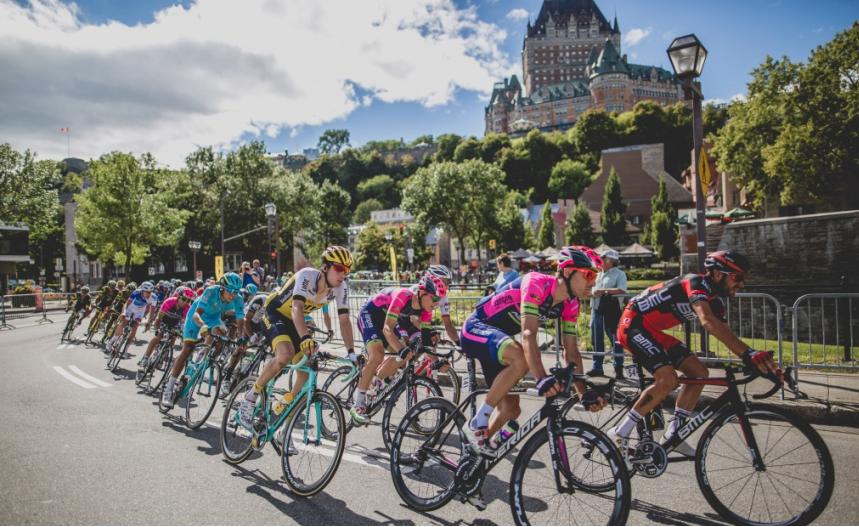 Le champion de France aux Grands Prix cyclistes de Québec et Montréal