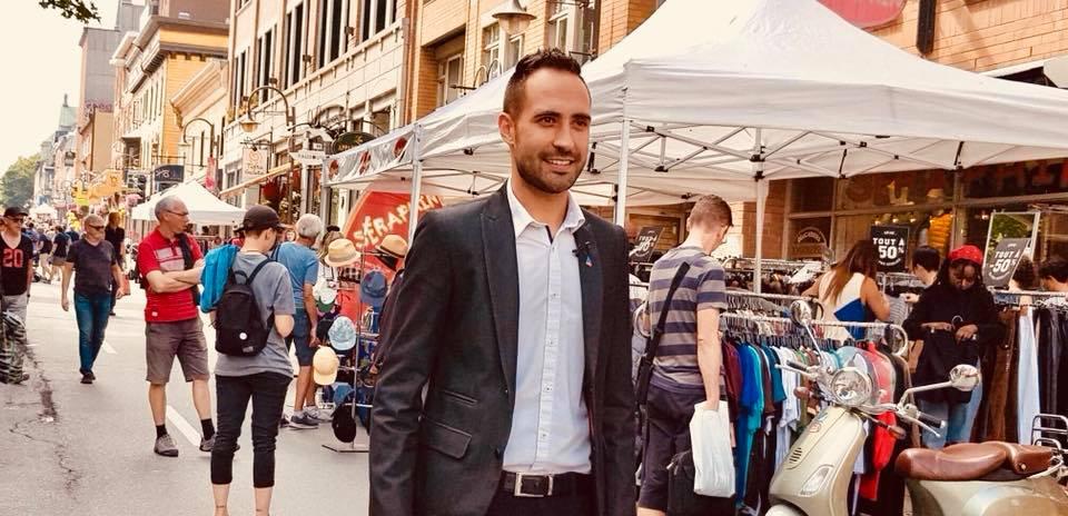 Élections provinciales: Florent Tanlet, un Lyonnais du PLQ à l'assaut d'un comté péquiste