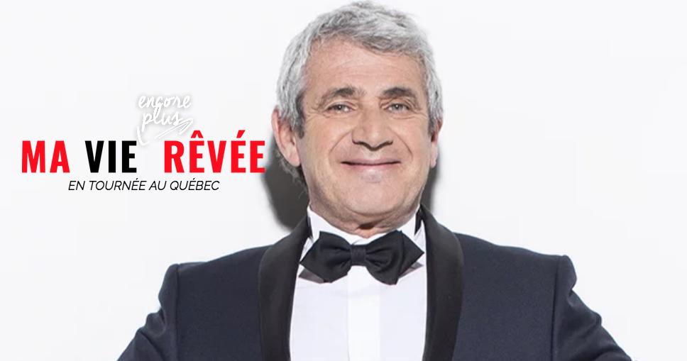 Michel Boujenah de retour pour une nouvelle tournée québécoise