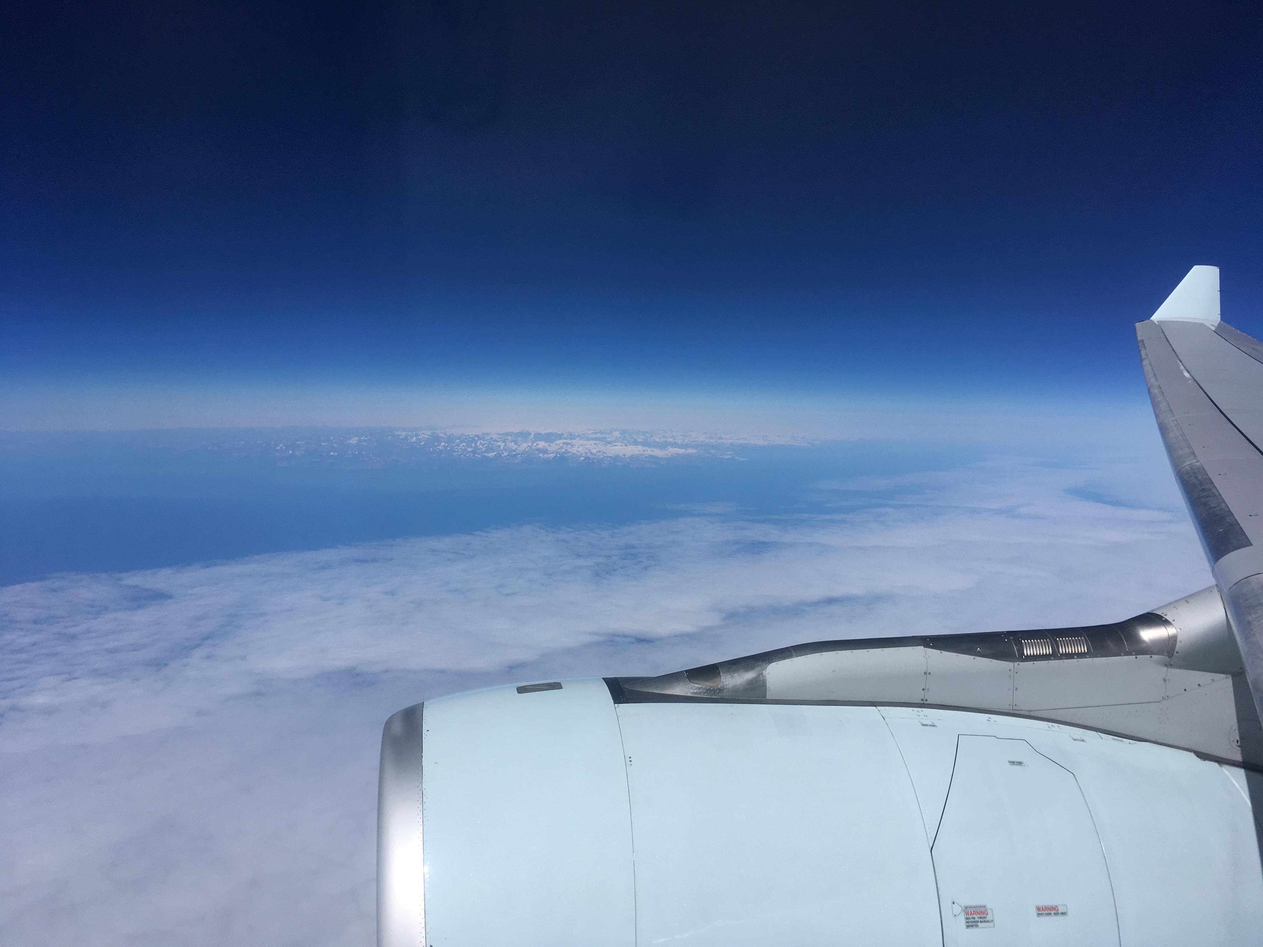 Un vol Montréal-Bordeaux en 2019